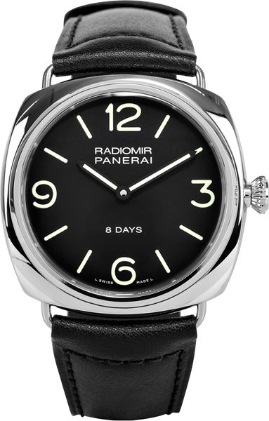 NEW PANERAI RADIOMIR BLACK SEAL 8 DAYS ACCIAIO #paneraiwatches #majordor #luxurywatches | www.majordor.com