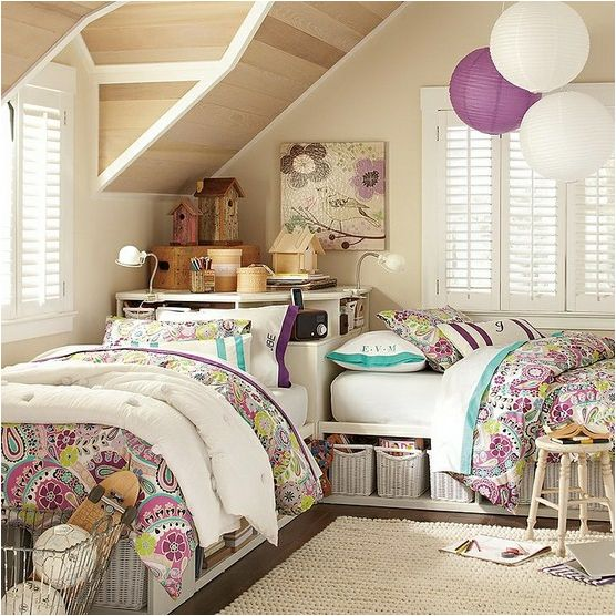 An idea for room sharing that makes me less nervous...no worries about someone jumping from a top bunk.