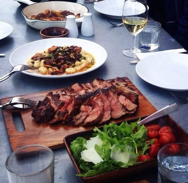 Bar Alto Food Selection