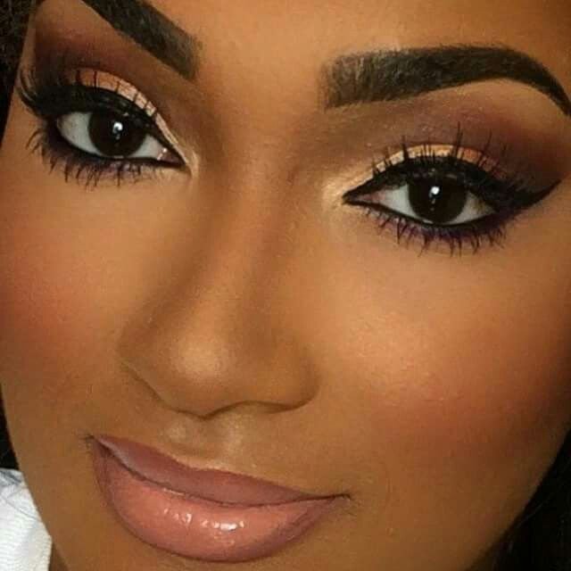 27 best makeup looks for black women images on pinterest. Black Bedroom Furniture Sets. Home Design Ideas