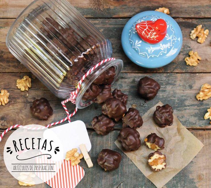 Si estás buscando #inspiración para la cocina, te presentamos una dulce y deliciosa receta de nueces con manjar, ideal para regalar o para compartir en familia #receta #Navidad