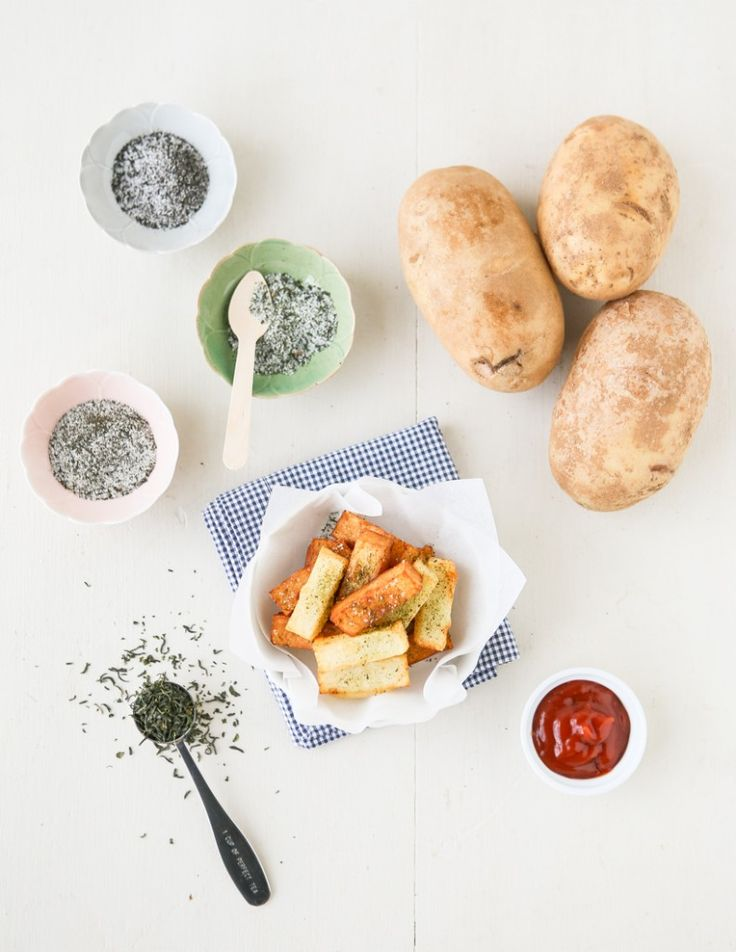Pont Neuf Potatoes with Tea Salt | Thirsty For Tea
