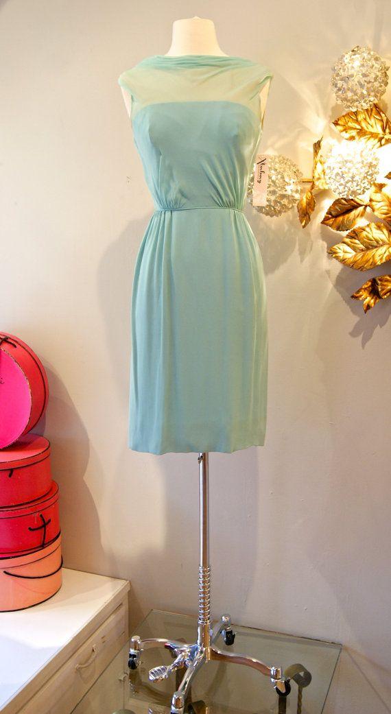 60's Dress// Vintage 1960's Marvelous Mint by xtabayvintage, $248.00