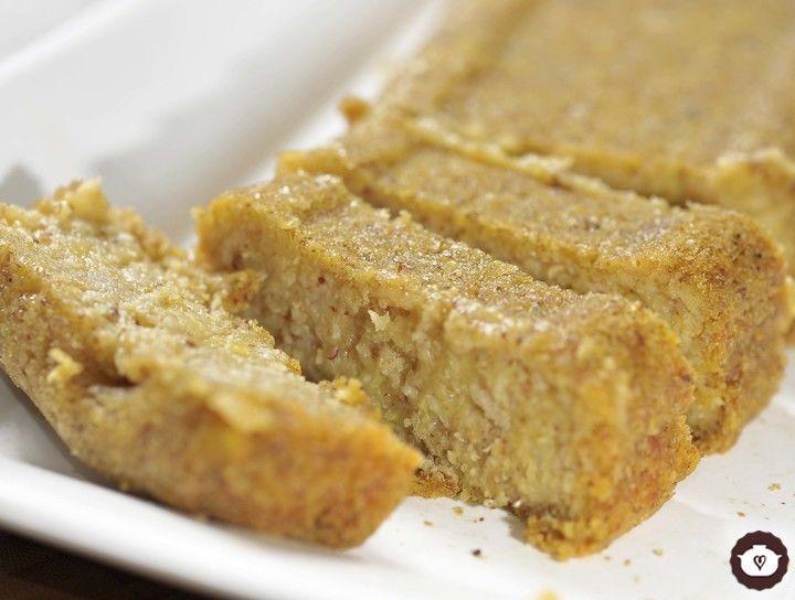 Pan de avena naranja y plátano sin gluten