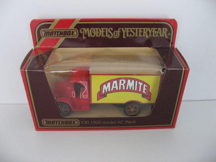 MATCHBOX MODELS OF YESTERYEAR Y30 MOY 1920 MODEL AC MACK MARMITE CODE 3 in Toys & Games, Diecast & Vehicles, Cars, Trucks & Vans   eBay