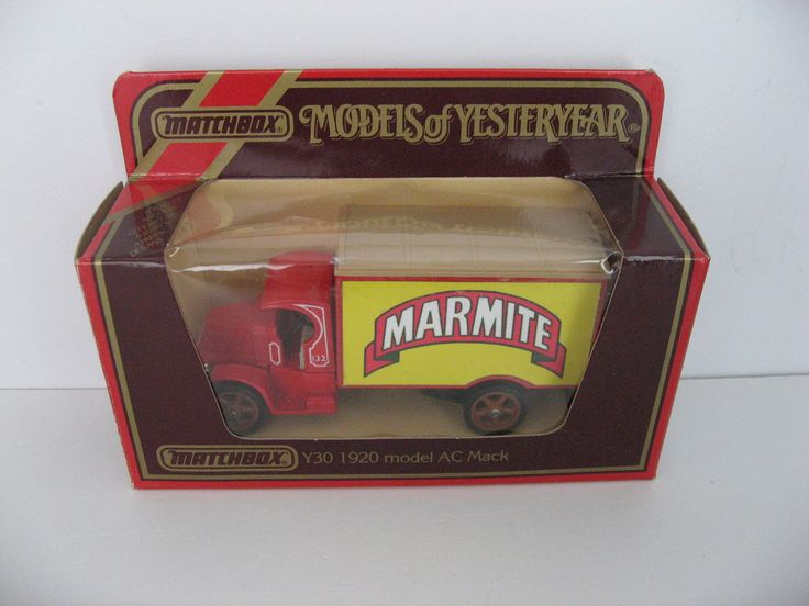 MATCHBOX MODELS OF YESTERYEAR Y30 MOY 1920 MODEL AC MACK MARMITE CODE 3 in Toys & Games, Diecast & Vehicles, Cars, Trucks & Vans | eBay