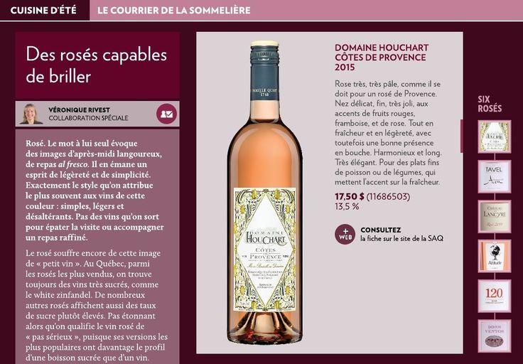 Des rosés capables de briller - La Presse+