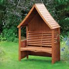 AFK Luxury Goodwood Stained Wooden Garden Arbour