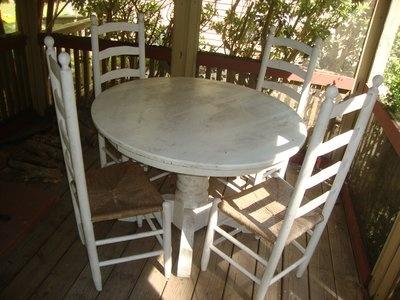 Wonderful Kitchen Table / Patio Furniture · Yard SalesCamp LejeuneKitchen  TablesDining TableNorth ...