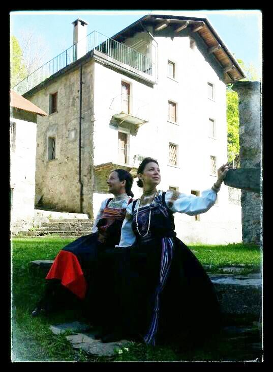 Ancient wedding's dress - Fobello in Valsesia (VC) - Piemont (Italy) 2014