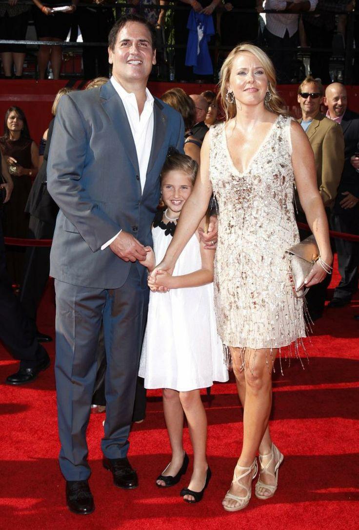 Dallas Mavericks owner Mark Cuban and wife Tiffany Stewart
