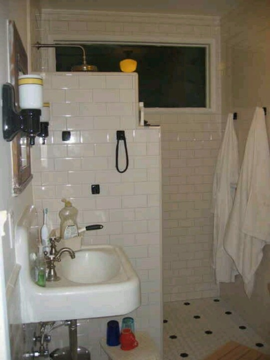50 Best Images About Doorless Showers On Pinterest Shower Doors Small Wet Room And Shower Walls