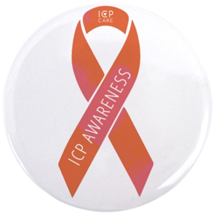 We are excited to announce the ICP Awareness Ribbon is here and just in time before June ICP Awareness month! To purchase your magnet or button visit the ICP Care Cafe Press store here http://www.cafepress.com/icpcare/14381449  Intrahepatic Cholestasis of Pregnancy