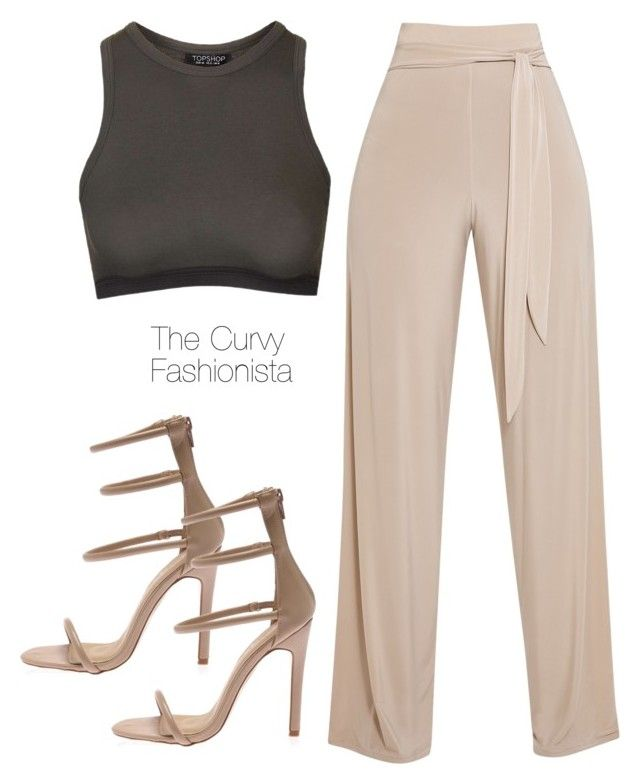 """""""Untitled #877"""" by thecurvyfashionistaa ❤ liked on Polyvore featuring Topshop"""
