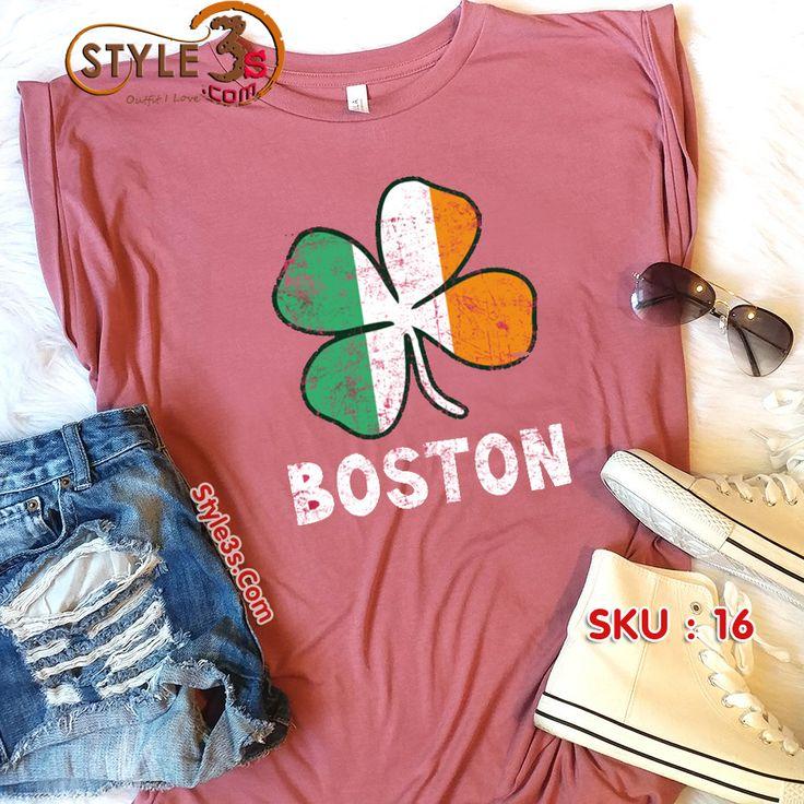 Boston Irish Flag  Tag your friends who will wear this shirt #boston