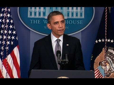 President Obama's remarks on today's mass school shooting in Newtown, Connecticut. Dec 14, 2012