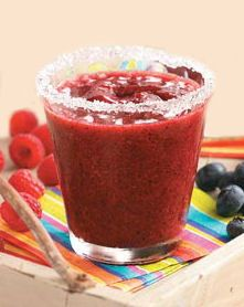 Frozen Raspberry Margarita - Great For Cinco de Mayo - http://thegardeningcook.com/frozen-raspberry-margarita/-