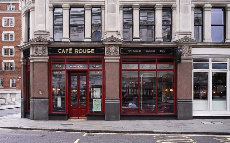 Cafe Rouge - St Pauls -  It is located next to St Pauls Cathedral, lovely food and very nice people! .