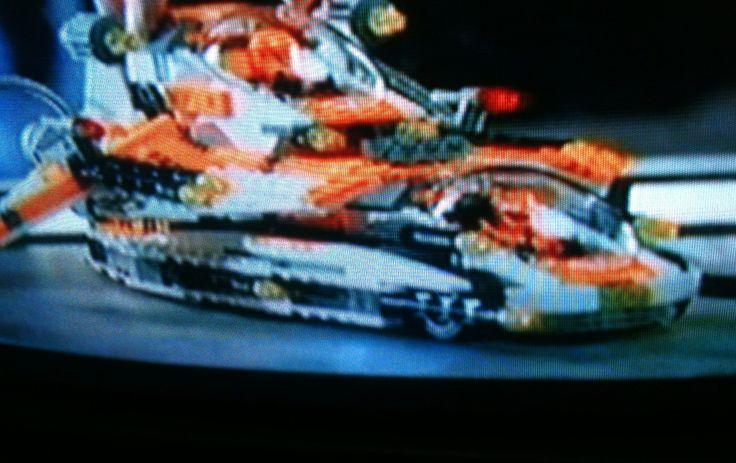 Lego Galaxy Squad Orange Team