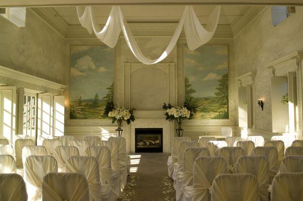 Indoor Ceremony Area at Graydon Hall Manor (Case Study)