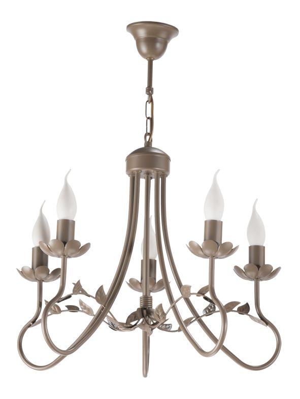 Lampa wisząca ELEONORA 5  w stylu romantycznym dostępna na naszej stronie www.przystojnelampy.pl   #lampa #wisząca #lamp #lamps #lampy #oświetlenie  #styl romantyczny #romantic #romantyczny