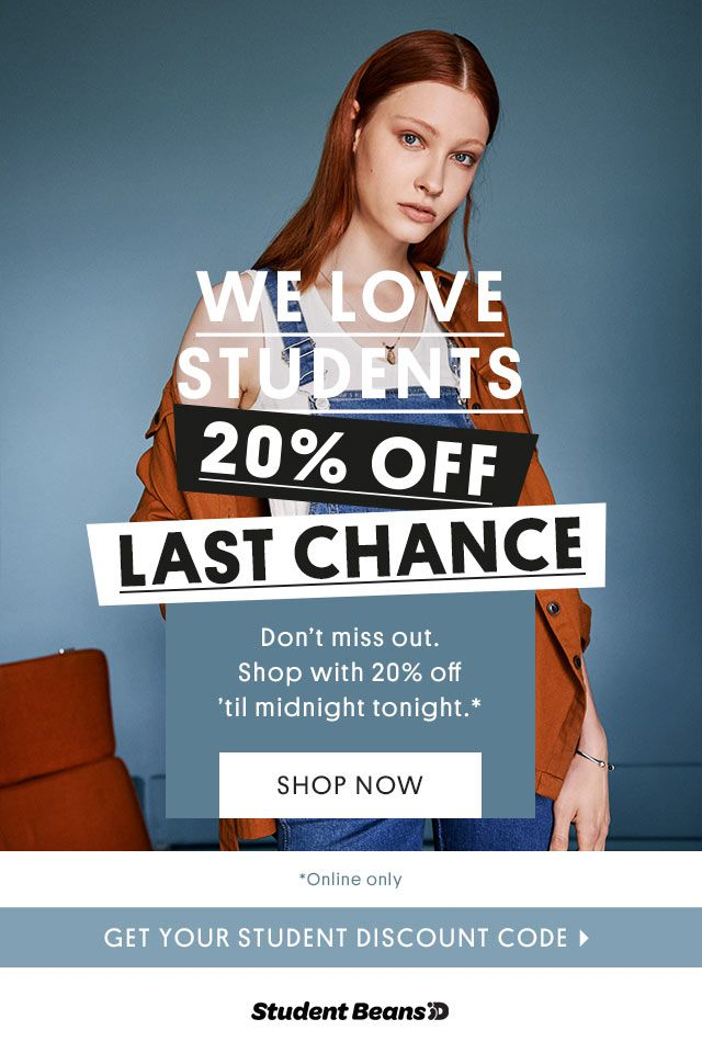 We Love Students 20% Off