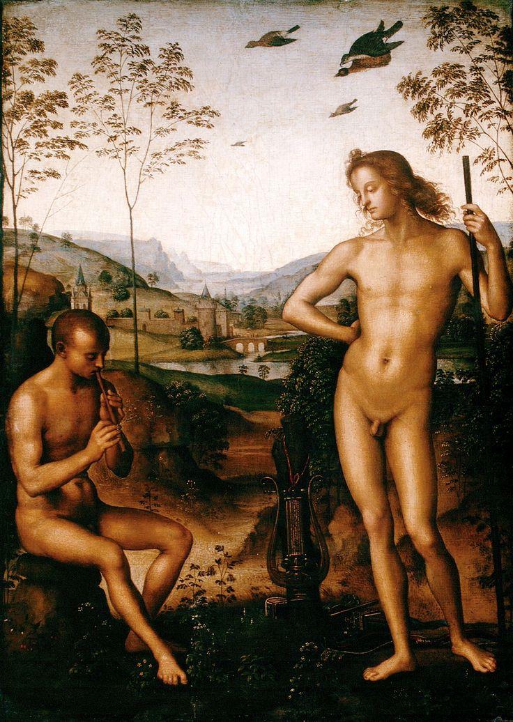 Apollo and Marsyas - Pietro Perugino