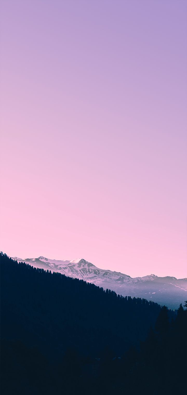 Sky Fall In Pink Color Background Of Wallpaper Wallpaper Sky