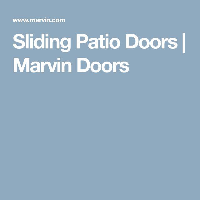 Sliding Patio Doors | Marvin Doors
