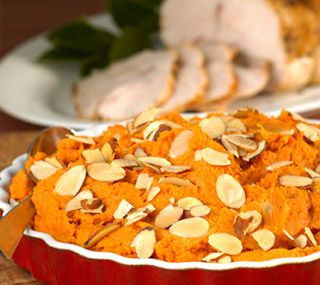 Thrifty Foods - Recipe - Gingery Mashed Yams with Toasted Almonds