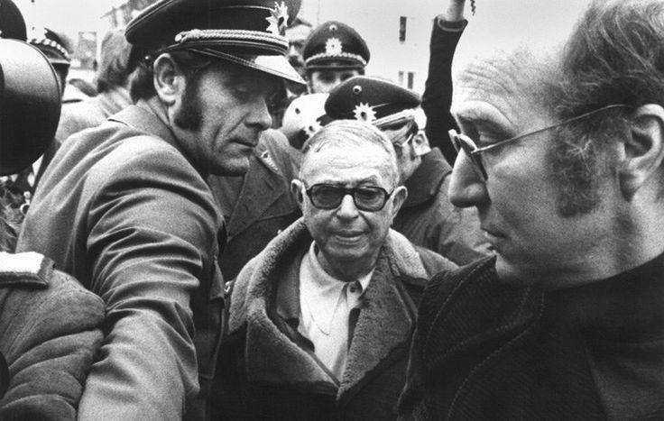 Vor 40 Jahren trifft der Philosoph Jean-Paul Sartre in der JVA Stuttgart-Stammheim den RAF-Gefangenen Andreas Baader. Beide reden gut eine Stunde lang aneinander vorbei