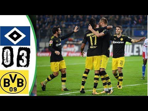 Hamburger sv vs  Borussia Dortmund 0-3 - Highlights & All goals - 20 sep...