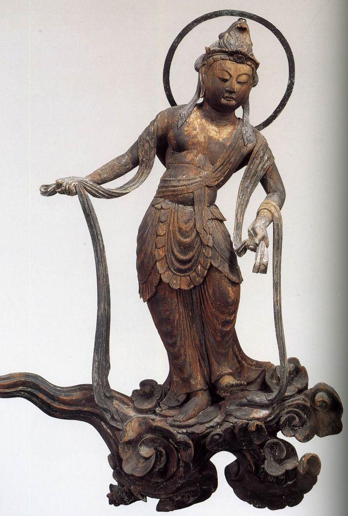 雲中供養菩薩像, 南20号像/Unchu Kuyo Bodhisattva http://www.geocities.jp/saitohmoto/hobby/gakki/Byodoin/Byodoin.html