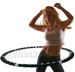 5g)MAGNETYCZNE HULA HOP  z funkcją masażu 77 KULEK