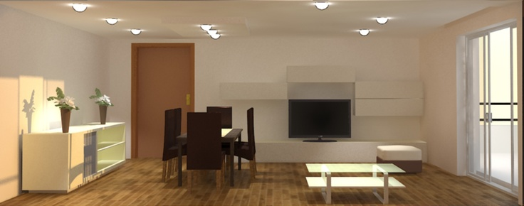 Render - Living Room 2012    3ds max