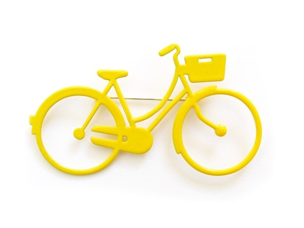 Ladies Bike Brooch | Howkapow | Design Shop ($50-100) - Svpply