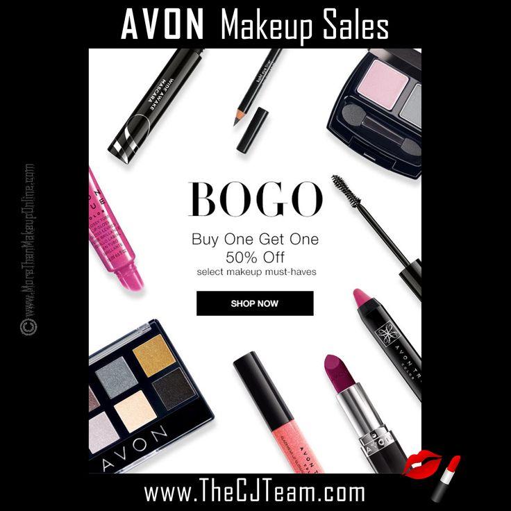 BOGO + Avon = :) Campaign 6 Makeup Sales, going on NOW through 3/1/17. Starting @ reg. $6. Shop online with FREE shipping with any $40 online Avon purchase. Avon Reps  Chris & Judy #Avon #Makeup #Sale #CJTeam #BOGO #Cheeks #TrueColor #Lips #Makeup #Cosmetics #Avon4Me #C6 Shop Avon Online @ www.TheCJTeam.com