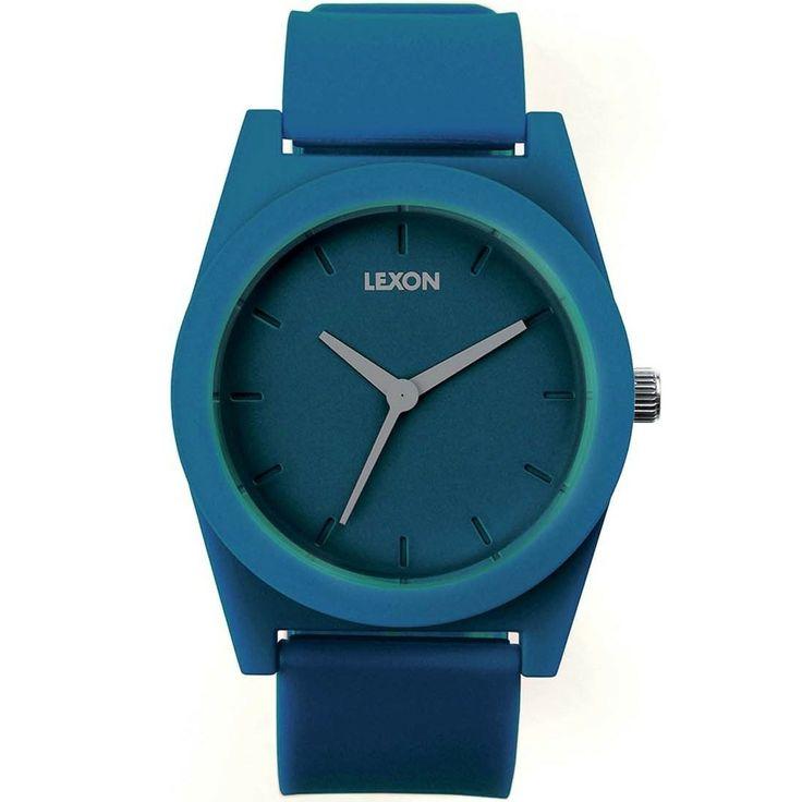 Reloj Lexon Design Spring XL Azul  http://www.tutunca.es/reloj-lexon-design-spring-xl-azul
