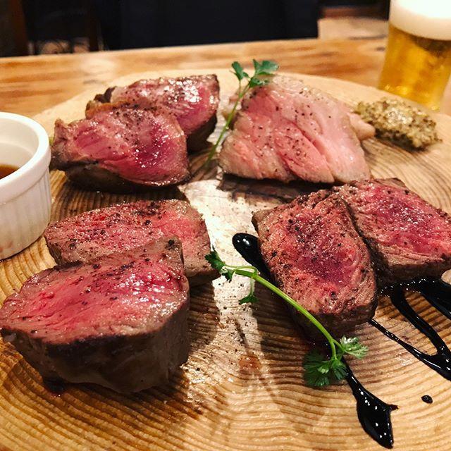 肉肉肉〜‼️またダイエットがんばろう‥ #肉#肉バル#ハラミ#牛タン#黒毛和牛#グリル#バルサミコ#イベリコ豚#マスタード#ラムチョップ#ダイエットはあしたから
