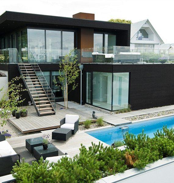 Arquitectura de casa moderna » Planos de Casas Gratis