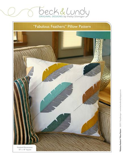 Free Quilted Pillow Patterns - 15 great patterns - Don't have time to make and gift a pillow?  Whip up a pillow. Easy, quick and a great personal gift.