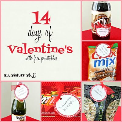 Six Sisters' Stuff: 14 Days of Valentine's with Free Printables!
