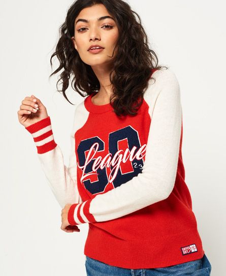 SUPERDRY Angebote Superdry Team SD Varsity Strickpullover  Category  Damen    Strickmode   Gemusterter Pulli Item number …% Mode% 4bc257d896