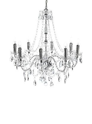 Contemporary Living Lampadario Jewel Clear Trasparente diametro 80 H.77 cm