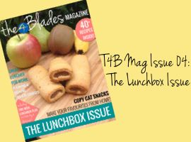 T4B Mag Issue 04: The Lunchbox Issue - The 4 Blades