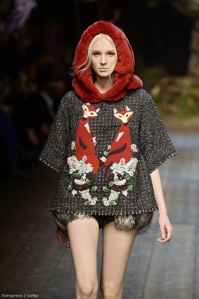 Dolce & Gabbana 2014-15 ősz-tél - róka
