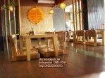 Set Meja Cafe Jepang Konsep Lesehan