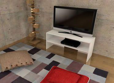 カラーボックステレビ台のイメージ