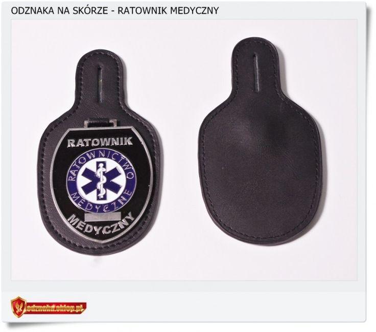 Odznaka Ratownika Medycznnego na skórze