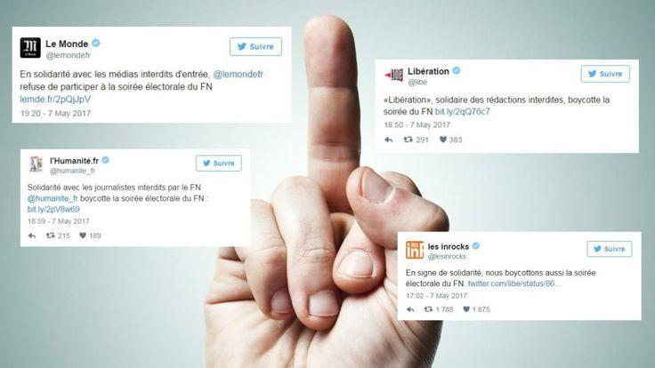 Ce soir où une partie de la presse française a décidé de faire un gros doigt au FN